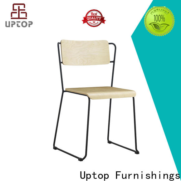 quality wood cafe chair side bulk production for office space