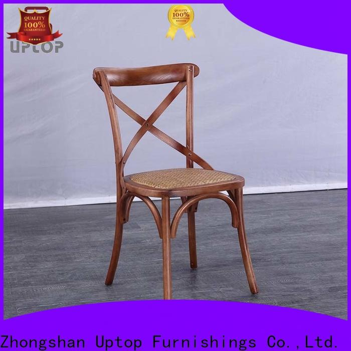 Uptop Furnishings side restaurant wood chair factory price for hotel