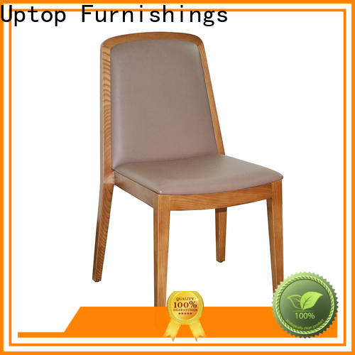 Uptop Furnishings hot-sale industrial wooden chair bulk production for public