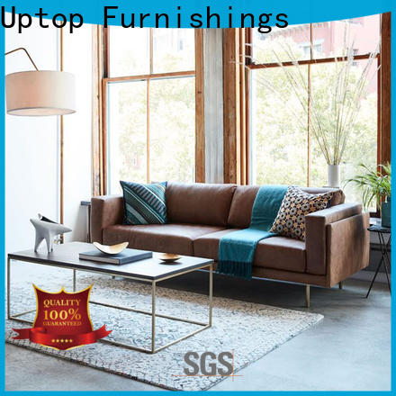 Uptop Furnishings tufted quality sofas wholesale for hotel