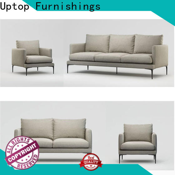 Luxury reception sofa scroll producer for hospital
