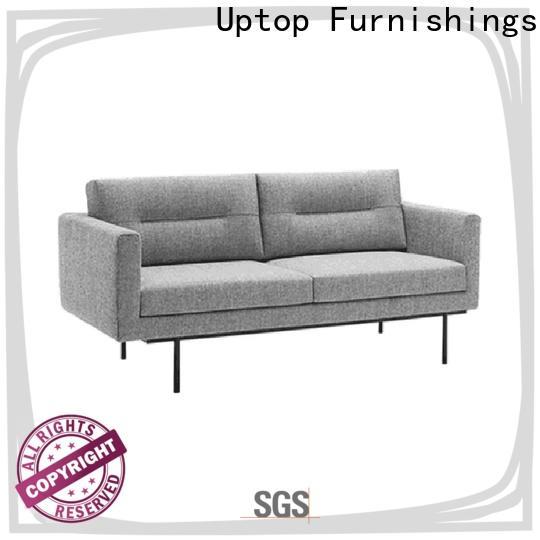 Uptop Furnishings black office modern sofa producer for bank