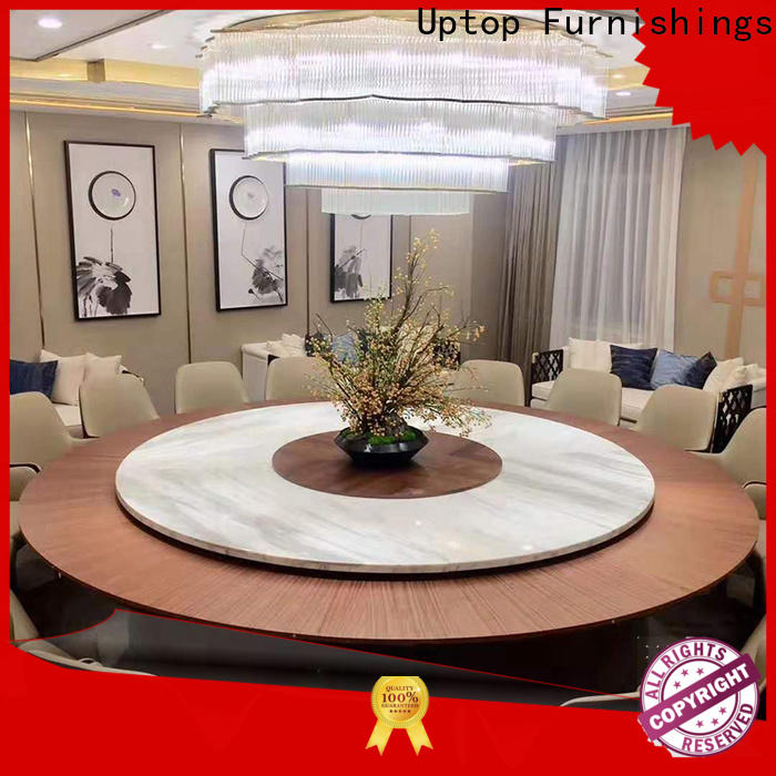 Uptop Furnishings room upholstered dining room chairs factory price for restaurant