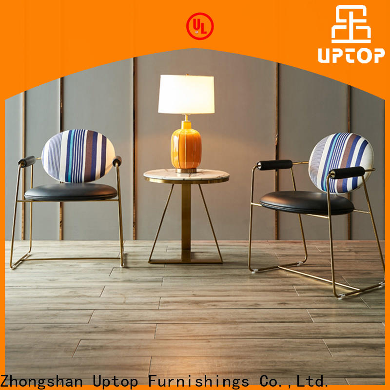 Uptop Furnishings living decorative chairs bulk production for airport