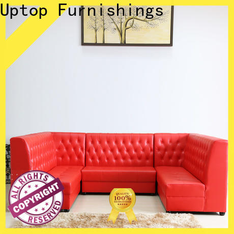 Uptop Furnishings inexpensive cafe booth seating for wholesale