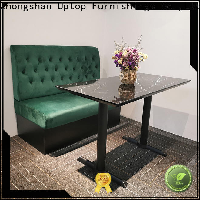 Uptop Furnishings inexpensive banquette bench for wholesale for cafe