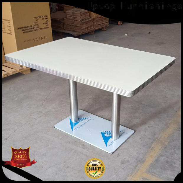 Uptop Furnishings good-package large round dining table by Chinese manufaturer for airport