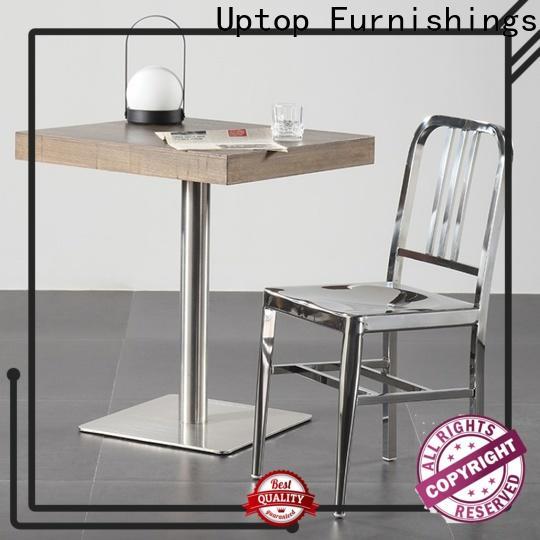 Uptop Furnishings high teach restaurant metal chair certifications for restaurant