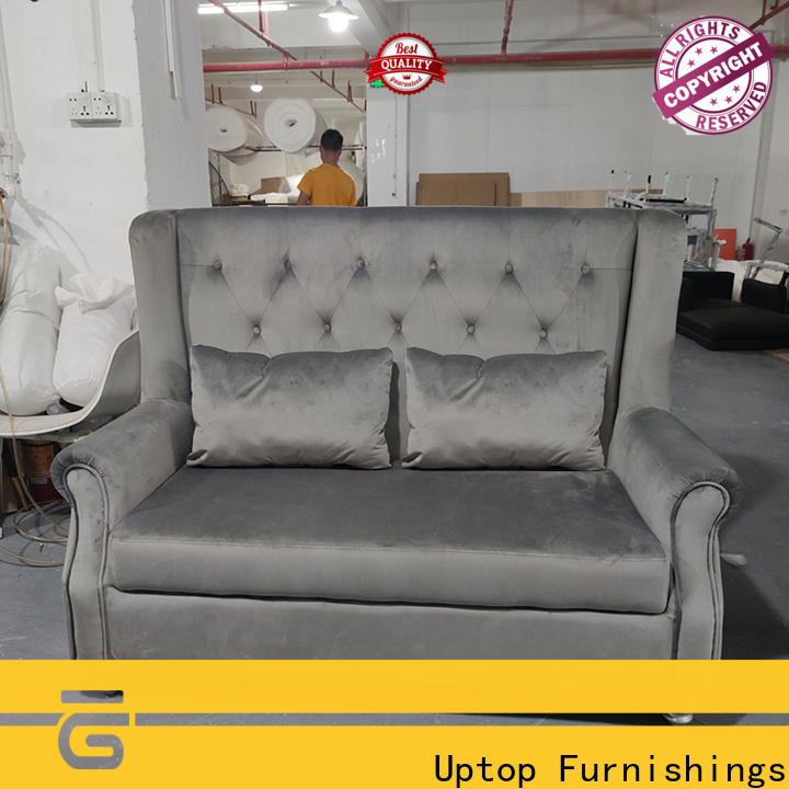 modular cafe booth seating sofa factory price for hospital