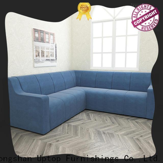 Uptop Furnishings Luxury mid century modern sofa factory price for school