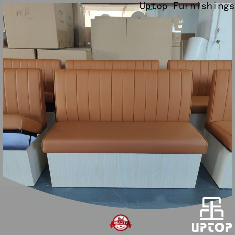 Luxury banquette bench upholstered inquire now for restaurant
