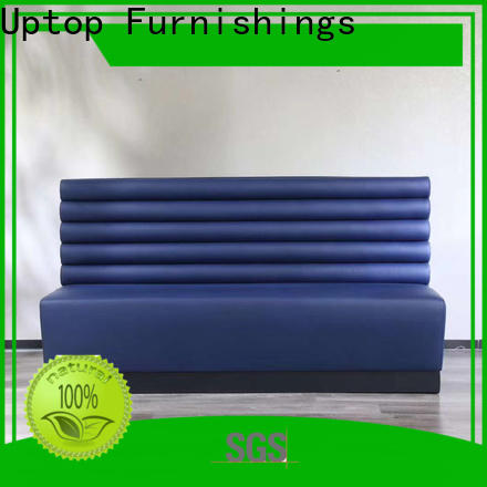 Luxury mid century modern sofa banquette free design for hospital