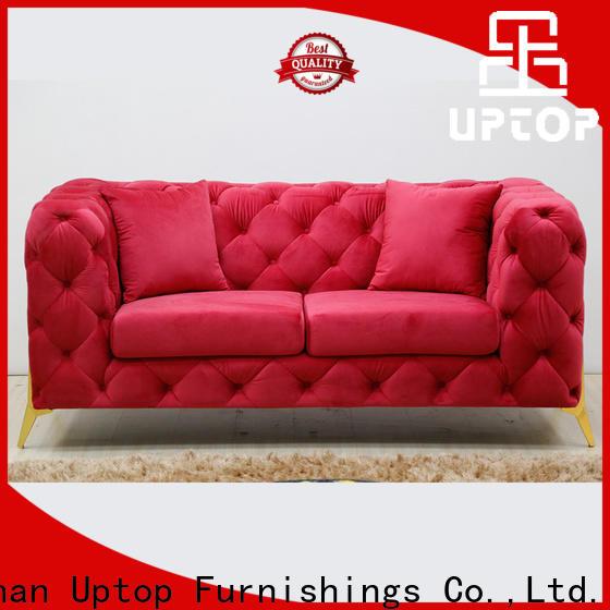 Uptop Furnishings modern design reception sofa China manufacturer for office