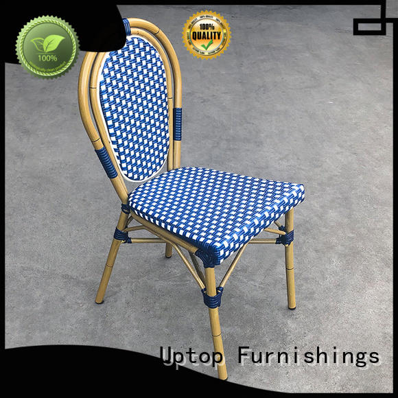 (SP-OC356) High quality Outdoor rattan cafe dining chair garden sets