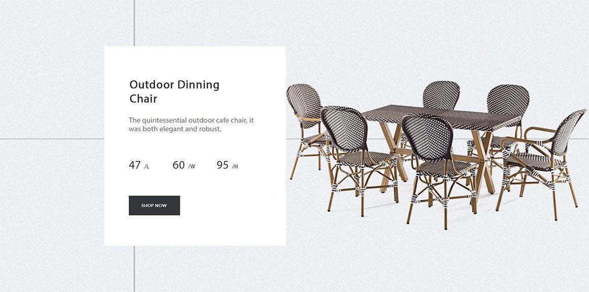 Uptop Furnishings scroll cafe chair factory price for restaurant-2