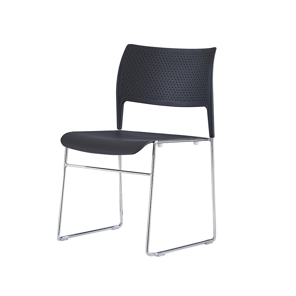 industry-leading stackable plastic chairs steel from manufacturer for hotel-3