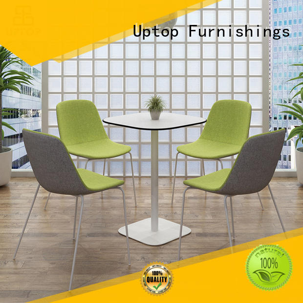 Uptop Furnishings stackable cafe table and chairs bulk production for airport