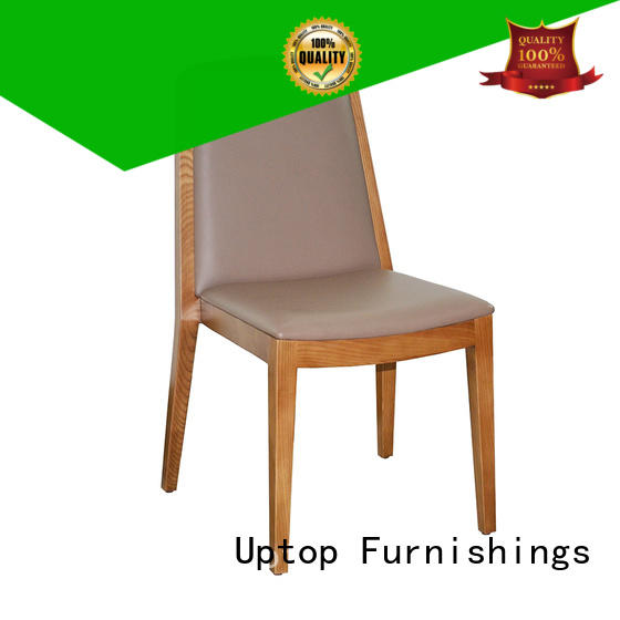 Uptop Furnishings inexpensive cafe wood chair bulk production for hotel