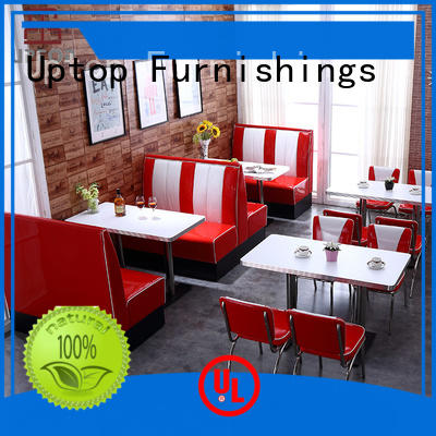 Restaurant Sets 50s american diner retro dining table