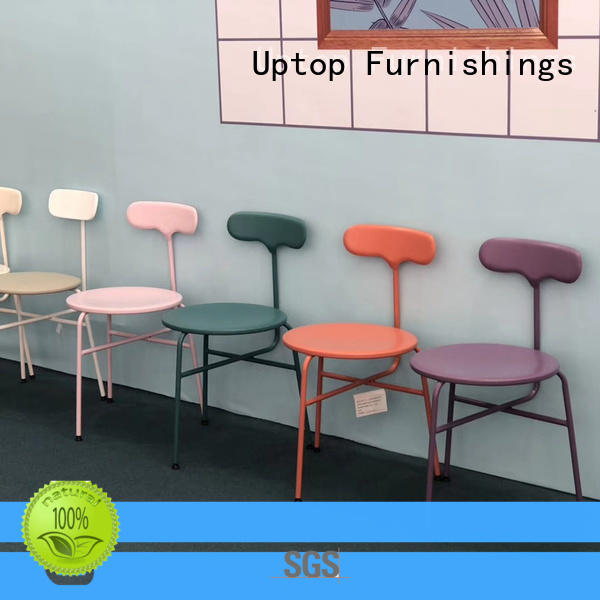 Uptop Furnishings executive industrial dining chairs bulk production for cafe
