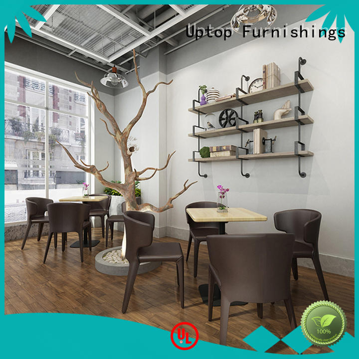 Uptop Furnishings canteen table and chairs factory price for bank