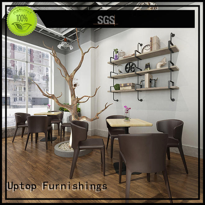 Uptop Furnishings table industrial dining table and chairs for Home for restaurant