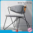 newly restaurant metal chair chair factory price for office space