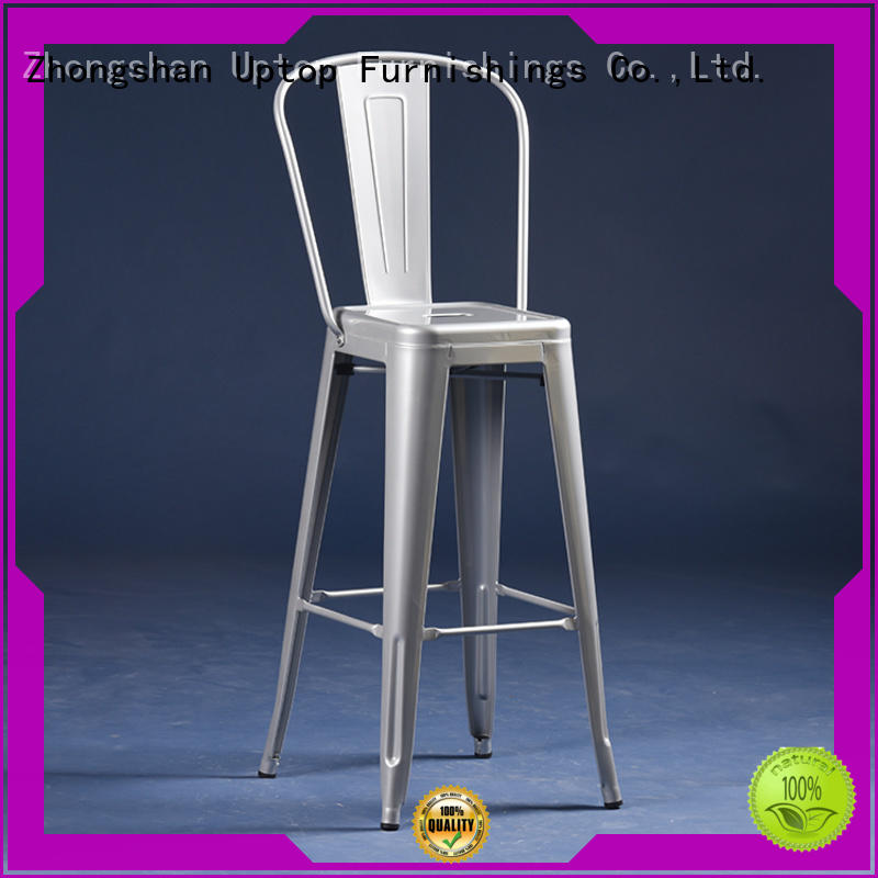 good-package metal restaurant chairs black certifications for cafe