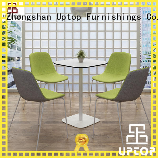 Uptop Furnishings good-package canteen table and chairs bulk production for cafe