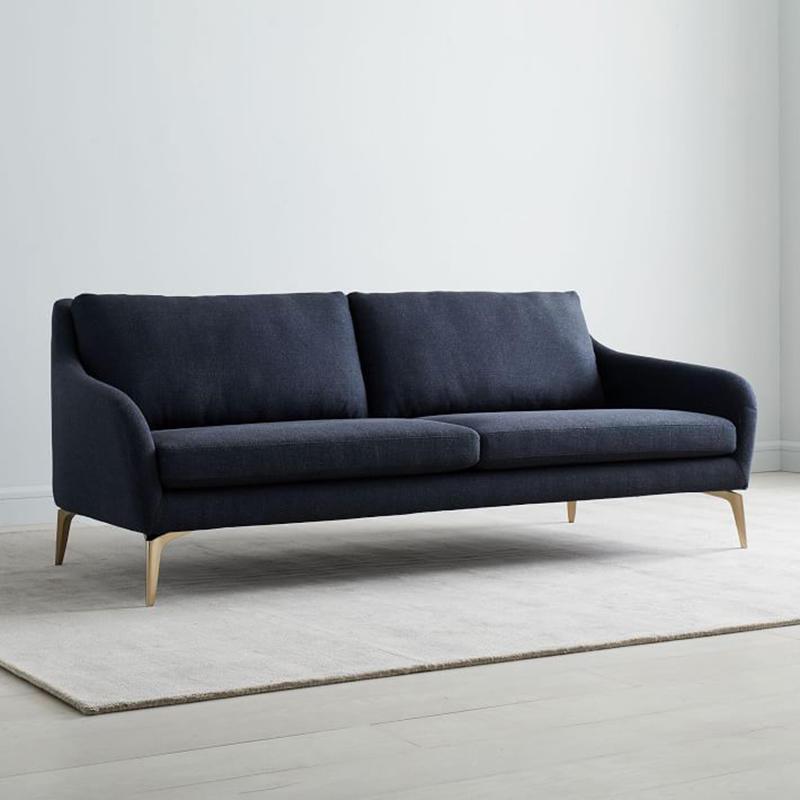 modern design waiting room sofa black wholesale for hospital-2