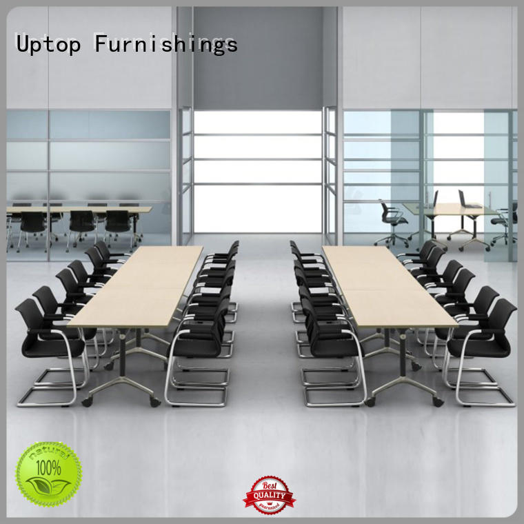 Long commercial stainless steel folding table