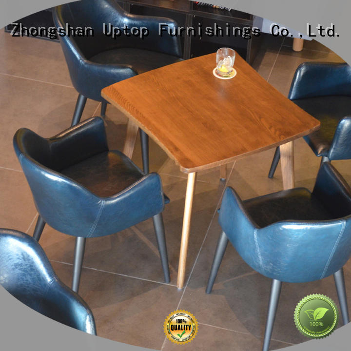 Uptop Furnishings modern restaurant tables and chairs factory price for restaurant