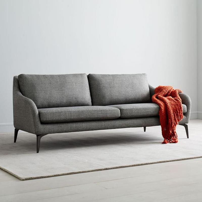 modern design waiting room sofa black wholesale for hospital-3