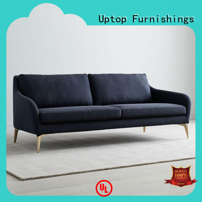 modern design waiting room sofa black wholesale for hospital