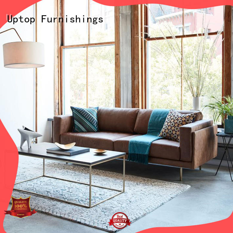 Uptop Furnishings scroll reception sofa inquire now for office