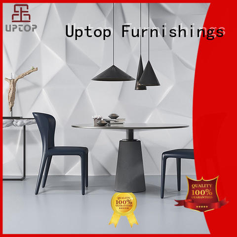 living upholstered dining room chairs armchair for hotel Uptop Furnishings