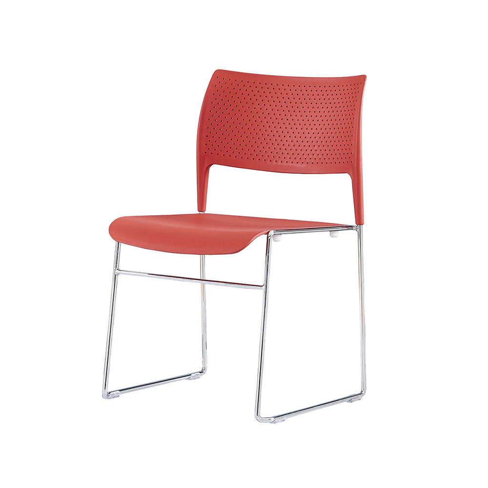 industry-leading stackable plastic chairs steel from manufacturer for hotel-2