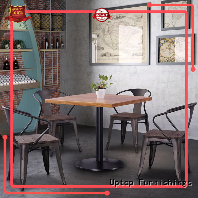 Uptop Furnishings new-arrival restaurant metal chair China supplier for cafe