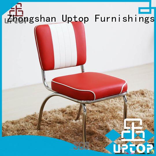 outdoor red uptop Uptop Furnishings Brand metal chair