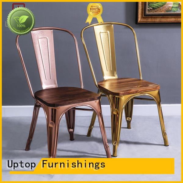 Uptop Furnishings restaurant restaurant metal chair certifications for restaurant