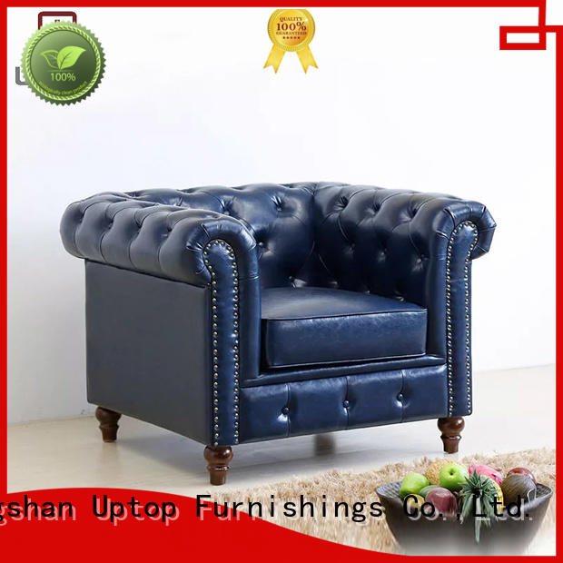 industrial style furniture sofa tufted industrial furniture room Uptop Furnishings Brand