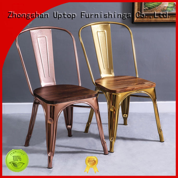 allweather assembled indoor Uptop Furnishings Brand metal chair