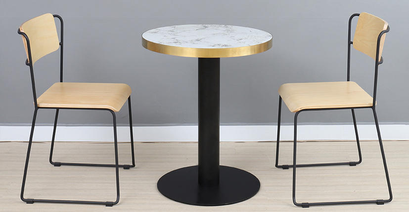 Uptop Furnishings-Manufacturer Of Industrial Chairs Uptop Assembled Bent Plywood Metal Dining