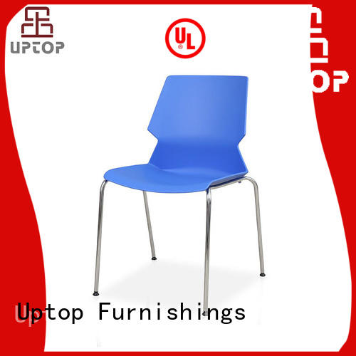 Popular design plastic outside chairs steel bulk production for bar