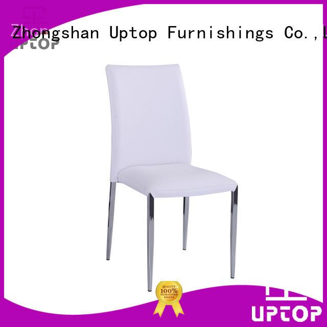 allweather wicker white Uptop Furnishings Brand metal chair