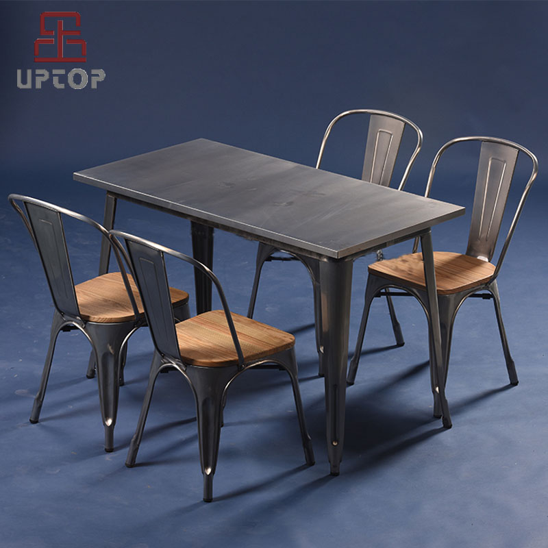 Uptop Furnishings-restaurant tables and chairs | Table Chair Set | Uptop Furnishings
