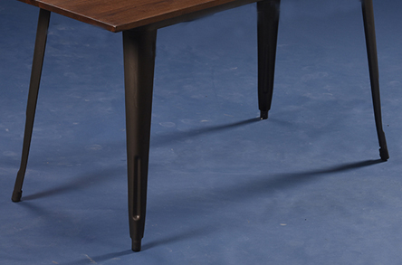 Uptop Furnishings-Restaurant Tables And Chairs Dining Table Set 4 Seater-2