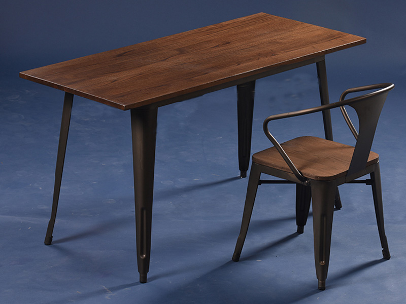 Uptop Furnishings-Restaurant Tables And Chairs Dining Table Set 4 Seater-4