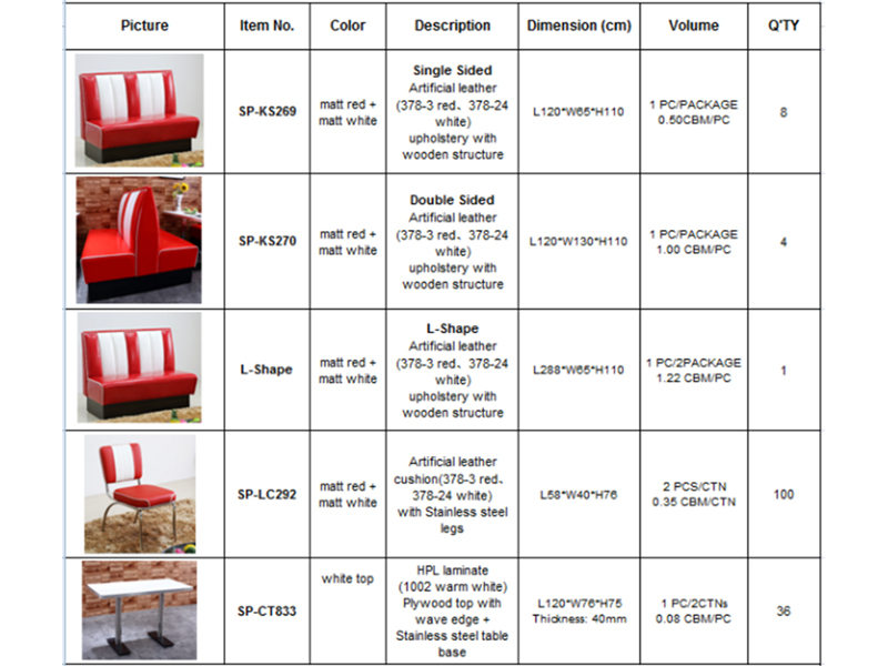 Uptop Furnishings-Professional Restaurant Booth Seating For Sale And Metal Stacking