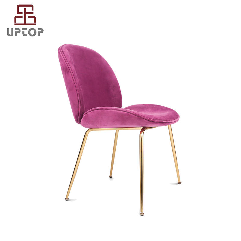 Modern Beetle Side Dining Chair Upholstered (SP-HC436)